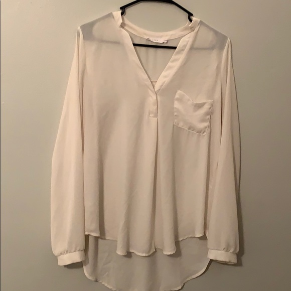 Lush Tops - Lush long sleeved blouse